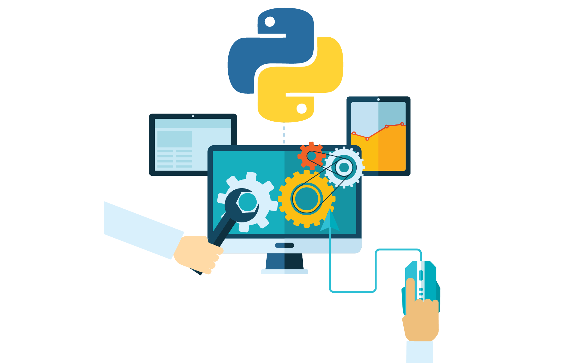 python web development services