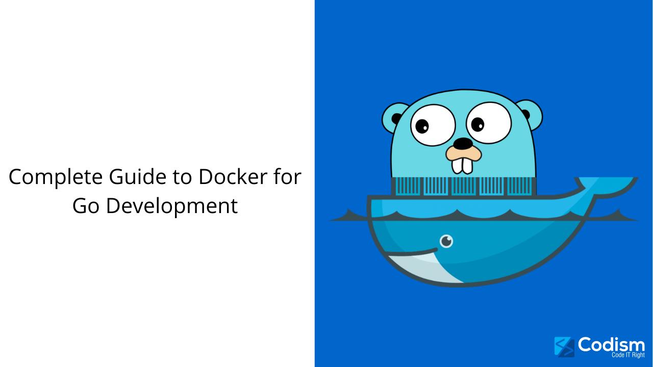 docker for go development